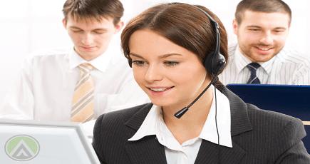 Photo of a Call Centre Team Leader