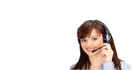 Photo of a Call Center Staff