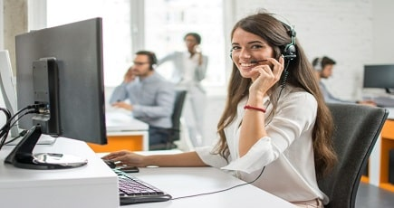 Photo of a Sales Telemarketing