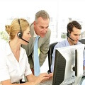 Photo of a Call Center Supervisor